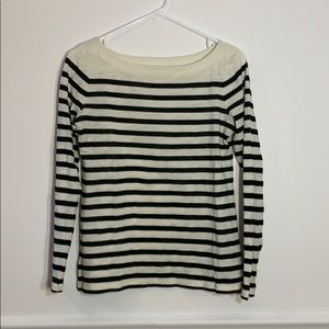 Faded black & off white striped shirt!